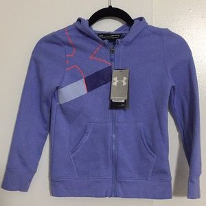 Under Armour Shirts & Tops - UNDER ARMOUR HOODIES YOUTH zipper front K03